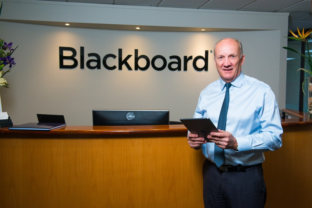 Allan Christie is photographed at Blackboard offices in Adelaide, Australia on November 25, 2016.
